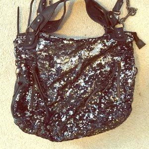 Handbags - Miss Gustto Sequin Convertible Crossbody Bag
